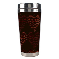 Heart Seamless Background Figure Stainless Steel Travel Tumblers
