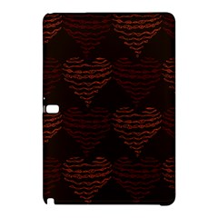 Heart Seamless Background Figure Samsung Galaxy Tab Pro 12 2 Hardshell Case by Celenk