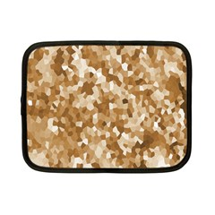 Texture Background Backdrop Brown Netbook Case (small)