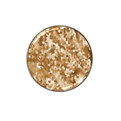 Texture Background Backdrop Brown Hat Clip Ball Marker (10 Pack)