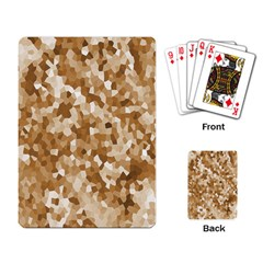 Texture Background Backdrop Brown Playing Card by Celenk
