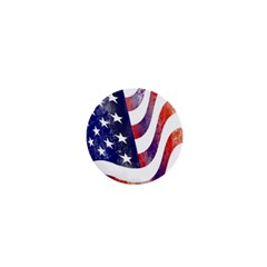 Usa Flag America American 1  Mini Buttons by Celenk