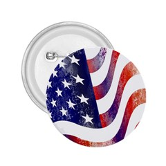 Usa Flag America American 2 25  Buttons by Celenk