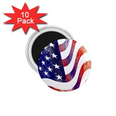 Usa Flag America American 1 75  Magnets (10 Pack)  by Celenk