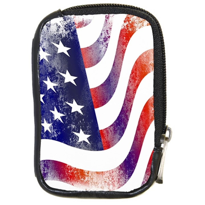 Usa Flag America American Compact Camera Cases
