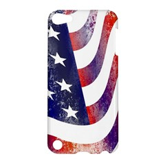 Usa Flag America American Apple Ipod Touch 5 Hardshell Case by Celenk
