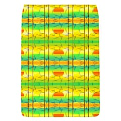 Birds Beach Sun Abstract Pattern Flap Covers (s)