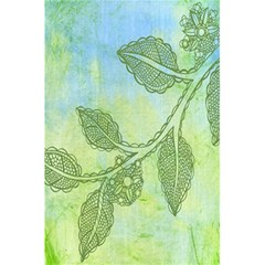 Green Leaves Background Scrapbook 5 5  X 8 5  Notebooks by Celenk