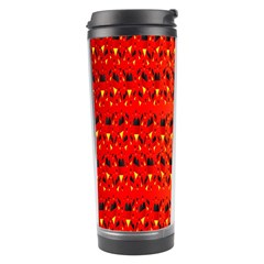 Texture Banner Hearts Flag Germany Travel Tumbler by Celenk