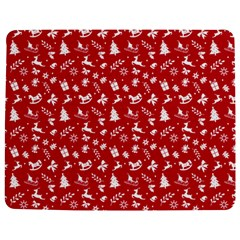 Red Christmas Pattern Jigsaw Puzzle Photo Stand (rectangular) by patternstudio