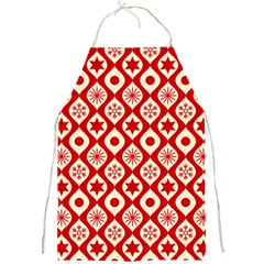 Ornate Christmas Decor Pattern Full Print Aprons by patternstudio