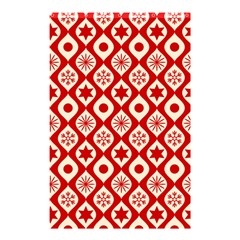 Ornate Christmas Decor Pattern Shower Curtain 48  X 72  (small)  by patternstudio