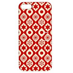 Ornate Christmas Decor Pattern Apple Iphone 5 Hardshell Case With Stand by patternstudio