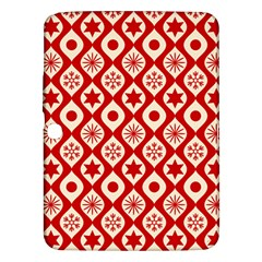 Ornate Christmas Decor Pattern Samsung Galaxy Tab 3 (10 1 ) P5200 Hardshell Case  by patternstudio