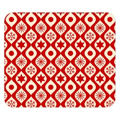 Ornate Christmas Decor Pattern Double Sided Flano Blanket (small)  by patternstudio