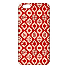 Ornate Christmas Decor Pattern Iphone 6 Plus/6s Plus Tpu Case by patternstudio