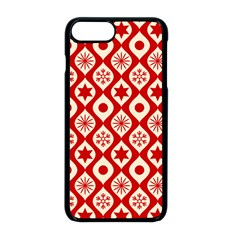 Ornate Christmas Decor Pattern Apple Iphone 8 Plus Seamless Case (black) by patternstudio