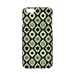 Green Ornate Christmas Pattern Apple Iphone 6/6s Hardshell Case by patternstudio