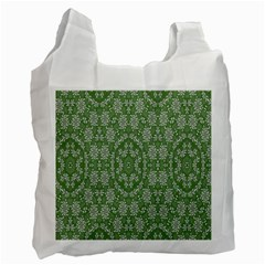 Art Pattern Design Holiday Color Recycle Bag (one Side)