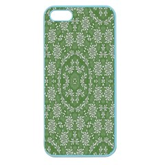 Art Pattern Design Holiday Color Apple Seamless Iphone 5 Case (color)