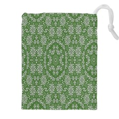 Art Pattern Design Holiday Color Drawstring Pouches (xxl) by Celenk