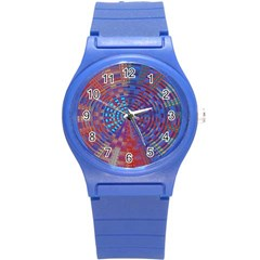 Gateway To The Light 5 Round Plastic Sport Watch (s) by Cveti