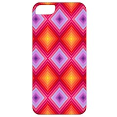 Texture Surface Orange Pink Apple Iphone 5 Classic Hardshell Case by Celenk