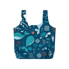 Cool Sea Life Pattern Full Print Recycle Bags (s)  by allthingseveryday