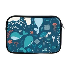 Cool Sea Life Pattern Apple Macbook Pro 17  Zipper Case by allthingseveryday
