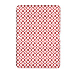 Sexy Red And White Polka Dot Samsung Galaxy Tab 2 (10 1 ) P5100 Hardshell Case  by PodArtist