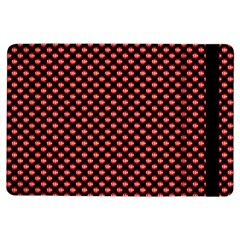 Sexy Red And Black Polka Dot Ipad Air Flip by PodArtist