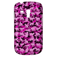 Hot Pink Catmouflage Camouflage Galaxy S3 Mini by PodArtist