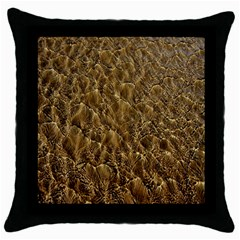 Water Mirror Background Pattern Throw Pillow Case (black)
