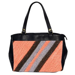 Fabric Textile Texture Surface Office Handbags (2 Sides)