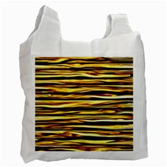 Texture Wood Wood Texture Wooden Recycle Bag (two Side)  by Celenk