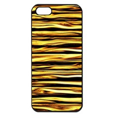 Texture Wood Wood Texture Wooden Apple Iphone 5 Seamless Case (black) by Celenk