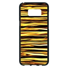 Texture Wood Wood Texture Wooden Samsung Galaxy S8 Plus Black Seamless Case by Celenk