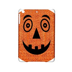 Fabric Halloween Pumpkin Funny Ipad Mini 2 Hardshell Cases by Celenk