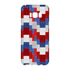 Texture Textile Surface Fabric Samsung Galaxy S8 Hardshell Case