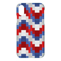 Texture Textile Surface Fabric Apple Iphone X Hardshell Case