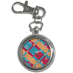 Fabric Textile Cloth Material Key Chain Watches