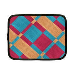 Fabric Textile Cloth Material Netbook Case (small)  by Celenk