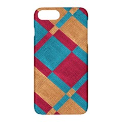 Fabric Textile Cloth Material Apple Iphone 7 Plus Hardshell Case by Celenk