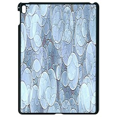 Bubbles Texture Blue Shades Apple Ipad Pro 9 7   Black Seamless Case by Celenk