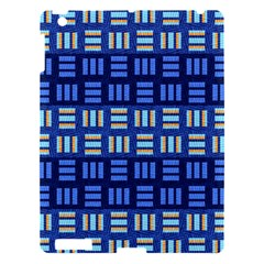 Textiles Texture Structure Grid Apple Ipad 3/4 Hardshell Case by Celenk