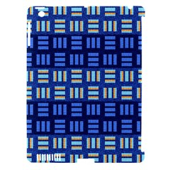 Textiles Texture Structure Grid Apple Ipad 3/4 Hardshell Case (compatible With Smart Cover) by Celenk