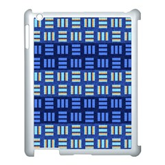 Textiles Texture Structure Grid Apple Ipad 3/4 Case (white) by Celenk