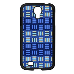 Textiles Texture Structure Grid Samsung Galaxy S4 I9500/ I9505 Case (black) by Celenk