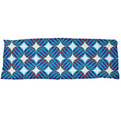 Geometric Dots Pattern Rainbow Body Pillow Case Dakimakura (two Sides) by Celenk