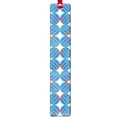 Geometric Dots Pattern Rainbow Large Book Marks by Celenk